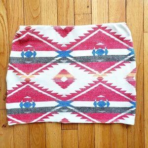 Zara Skirts - ZARA tribal mini skirt